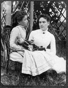 SmartBoard Helen Keller discussion - 1st grade
