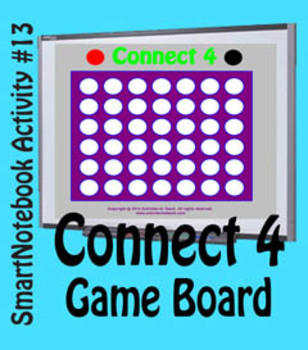 SmartNotebook Connect 4 Game - Basic - 50% off
