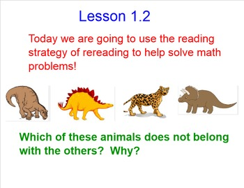 Smart Board Addition and Problem Solving Lessons
