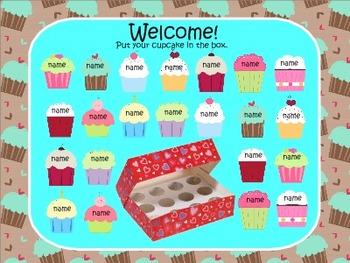Smartboard Cupcake Morning Pack