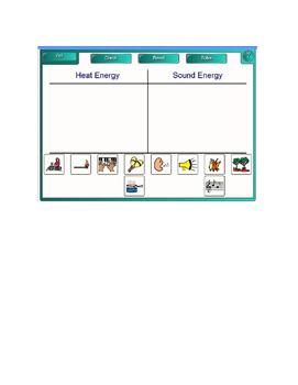 Smartboard Fun:  Energy Sorting Lesson
