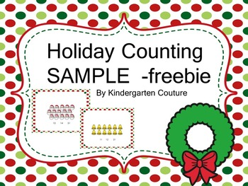 Smartboard Holiday Counting Sample -Freebie Revised