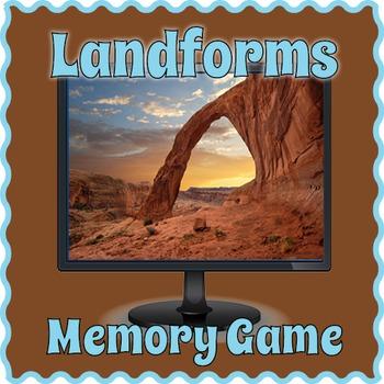 Smartboard Landforms Game
