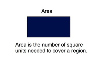 Smartboard Lesson for Area and Perimeter