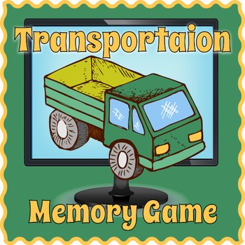 Smartboard Transportation Vocabulary Game