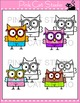 Owl Theme Classroom - Personal Use Clip Art - Back To Scho