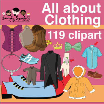 Clothing and Accessories Graphics Set: 169 PNG Images