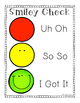 Smiley Check: Primary Students Self-Refelction