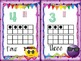 Smiley Face Themed number cards!