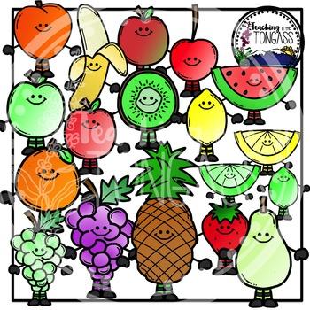 Fruits Clipart Bundle
