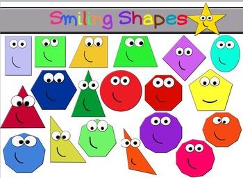 Smiling shapes