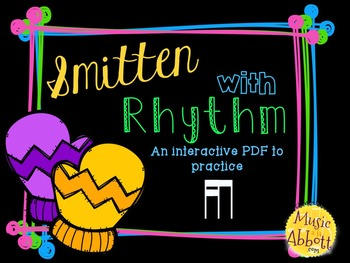 Smitten with Rhythm, PDFs and worksheets for practicing ti