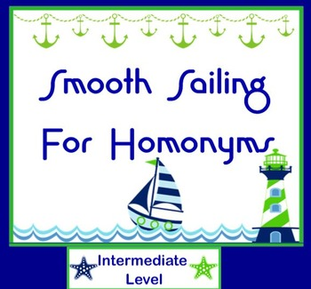 Smooth Sailing Through Homonyms