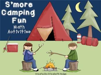 S'more Camping Fun- Math Activities