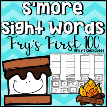 S'more Sight Words { All 100 Words From Fry's First 100 }