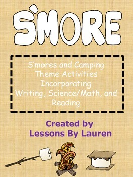 S'mores and Camping Themed Activities for Reading, Writing