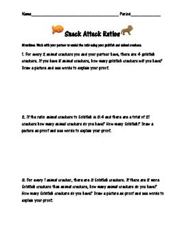 Snack Attack Ratios