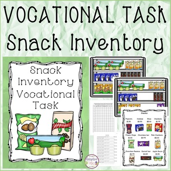 Snack Inventory Vocational Task