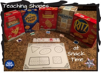 Snack Time Shapes