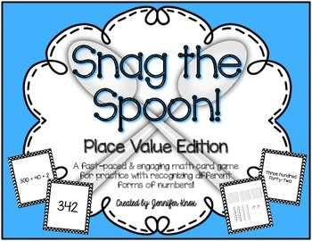 Snag the Spoon! {Place Value Edition}