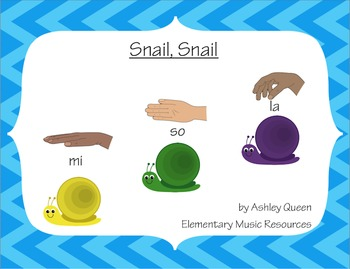 Snail, Snail: A La-So-Mi Activity for Smartboard and Boomwhackers