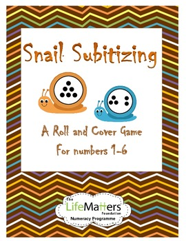 Snail Subitizing Roll and Cover