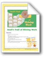 Snail's Trail of Shining Work (Bulletin Board)