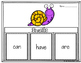Snails! Interactive Printables and Fast Facts Graphic Organizer!