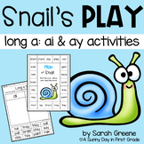 Snail's Play {long a: ai & ay pack!}
