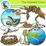Snake Clip Art - 19 Piece Set