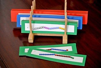 Snake Game : Make 10s (Beads)