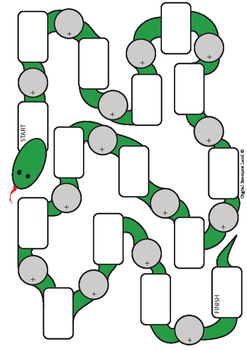 Snake Math Addition