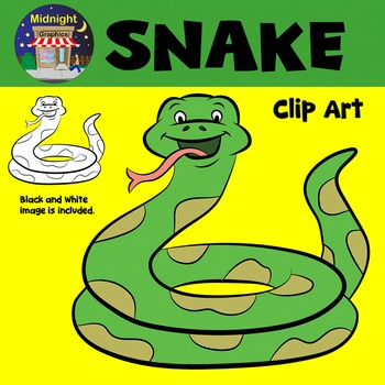 Snake Zoo Animals Clip Art