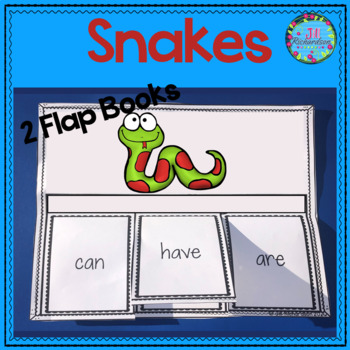 Snakes! Interactive Flap Books and Fast Facts Graphic Organizers!