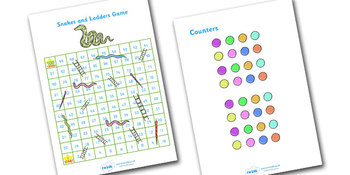 Snakes And Ladders 1-100