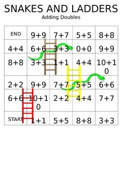 Snakes and Ladders Doubles
