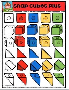 Snap Cube Plus {P4 Clips Trioriginals Digital Clip Art}