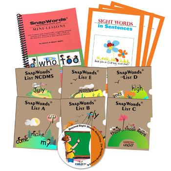 SnapWords® Classroom Kit