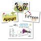 SnapWords® Numbers, Colors, Days, Months & Seasons Pocket