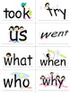 SnapWords® Sight Word List B Pocket Chart Cards
