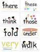 SnapWords® Sight Word List C Pocket Chart Cards