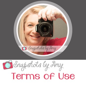 Snapshots by Amy Terms of Use