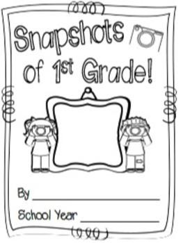 Snapshots of First Grade ~ A 1st Grade Memory Book