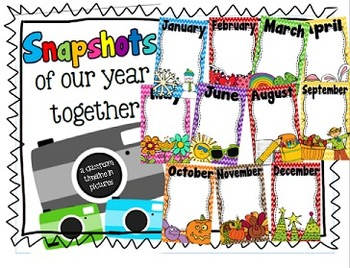 Snapshots of Our Year Classroom Timeline