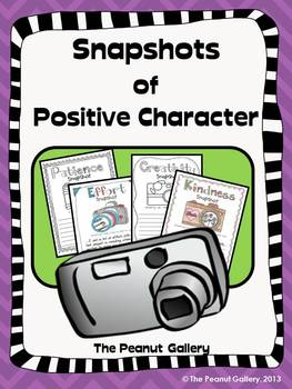Snapshots of Positive Character
