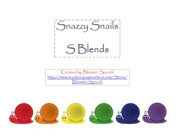 Snazzy Snails S Blends