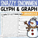 Snazzy Snowmen:  A GLYPH & GRAPH Math Activity for Winter