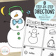 Snazzy Snowmen:  A GLYPH & GRAPH Math Activity for Winter