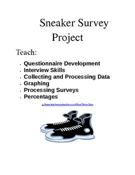 Sneaker Survey:  Data Collection and Graphing