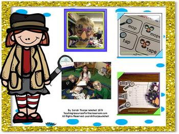 Sneaky E Fun Detective Themed Lessons for Silent E or Tricky E